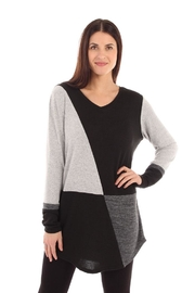 Fine Line Imports Jeanette Color-Block Top - Product Mini Image