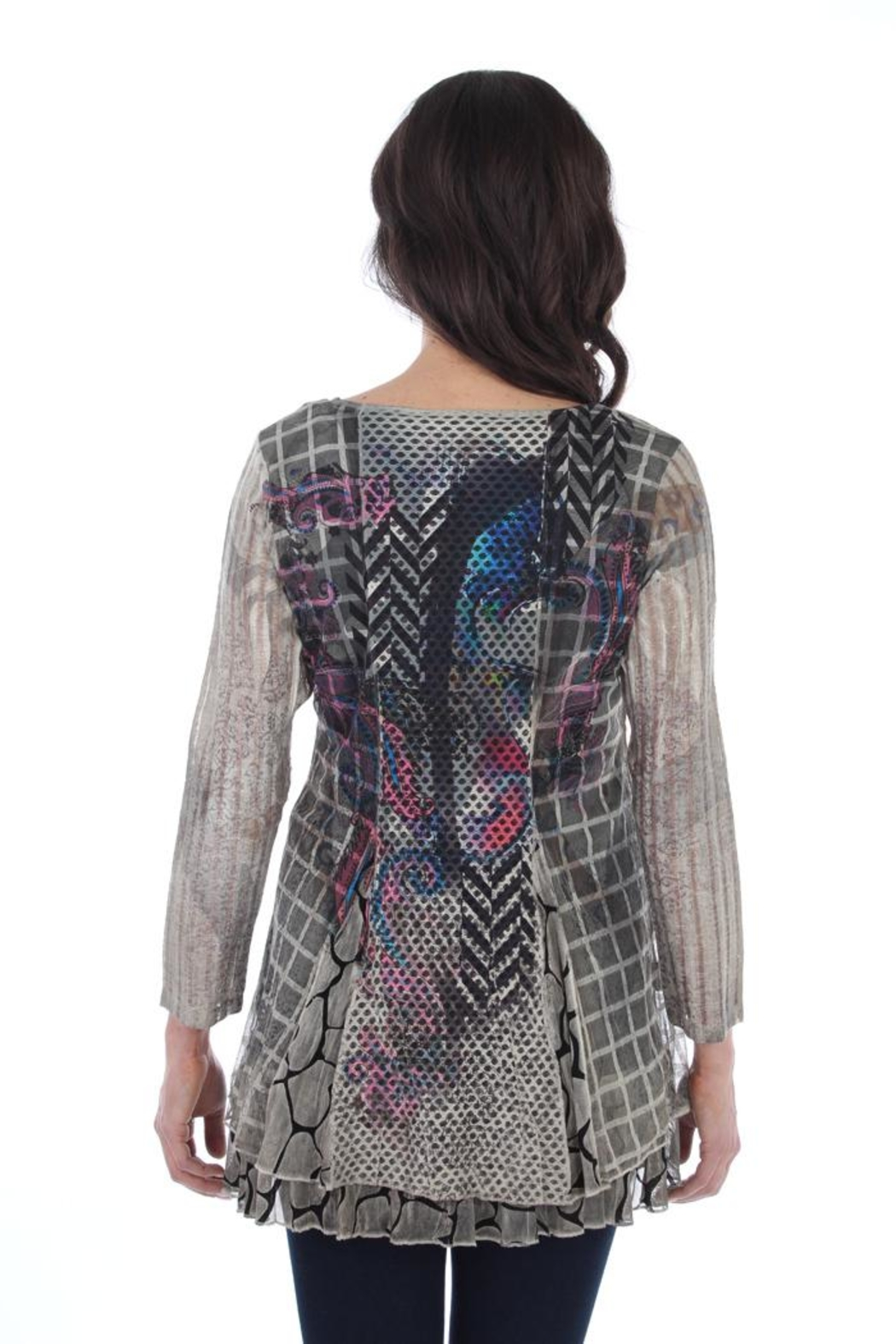Fine Line Imports Nicole Tunic Top - Side Cropped Image