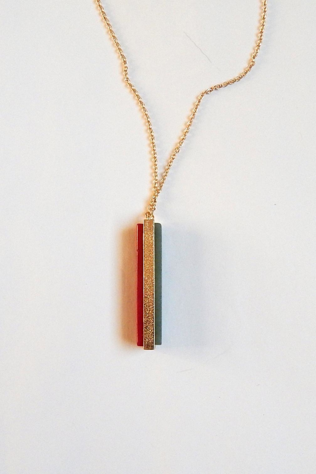 Fine N Funky Christmas Color Pendant - Side Cropped Image