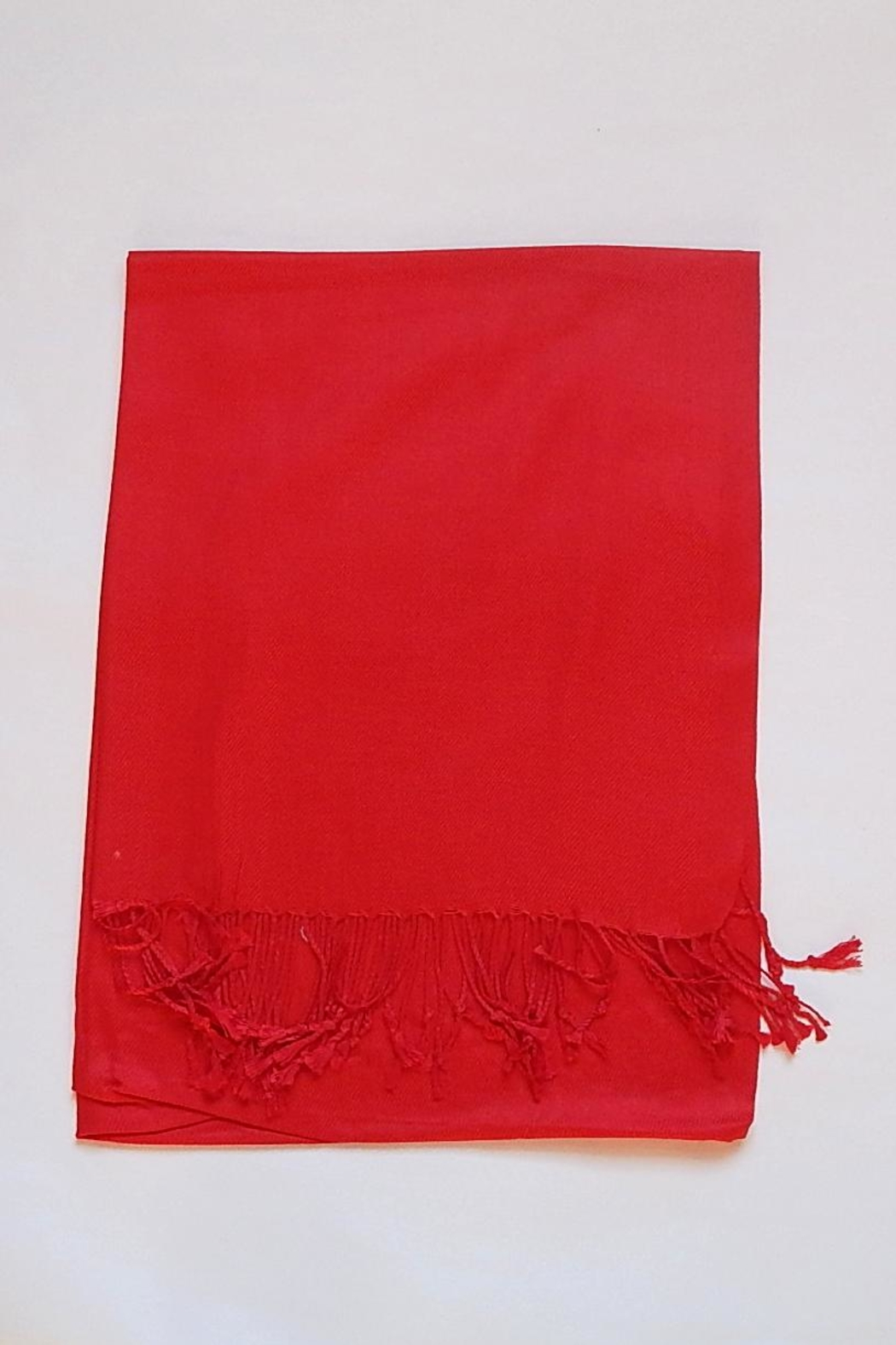 Fine N Funky Christmas Pashmina Scarf - Front Cropped Image