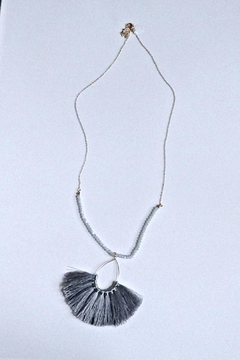 Fine N Funky Fringe Beads Necklace - Product List Image