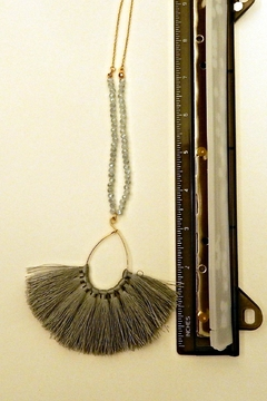 Fine N Funky Fringe Beads Necklace - Alternate List Image