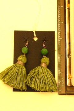 Fine N Funky Fringe Earrings - Alternate List Image