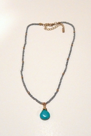 Fine N Funky Made-In-U.S.A. Semi-Precious Necklace - Front cropped