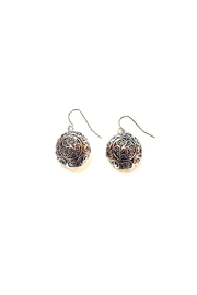 Fine N Funky Round Shape Earrings - Front cropped