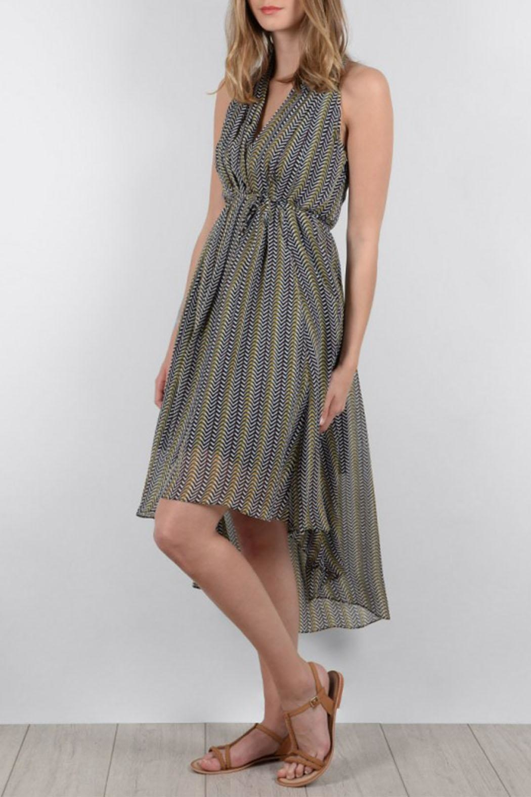 Molly Bracken Finesse Dress - Side Cropped Image