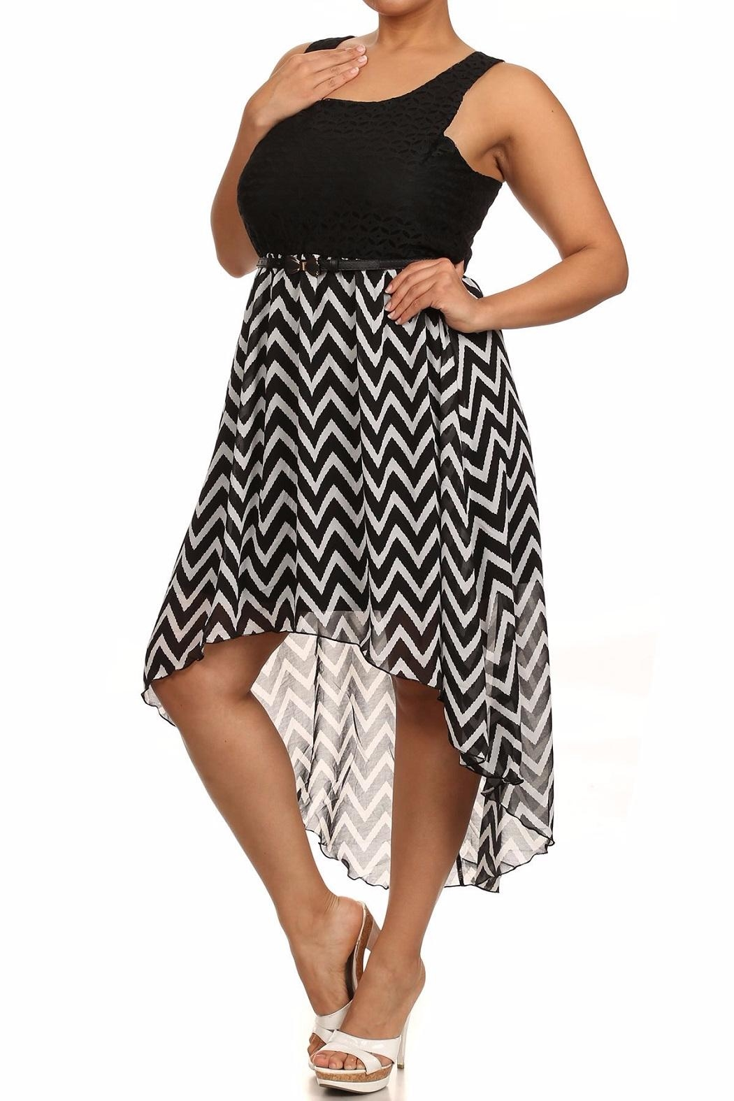 Finesse Hi-Lo Dress - Front Full Image