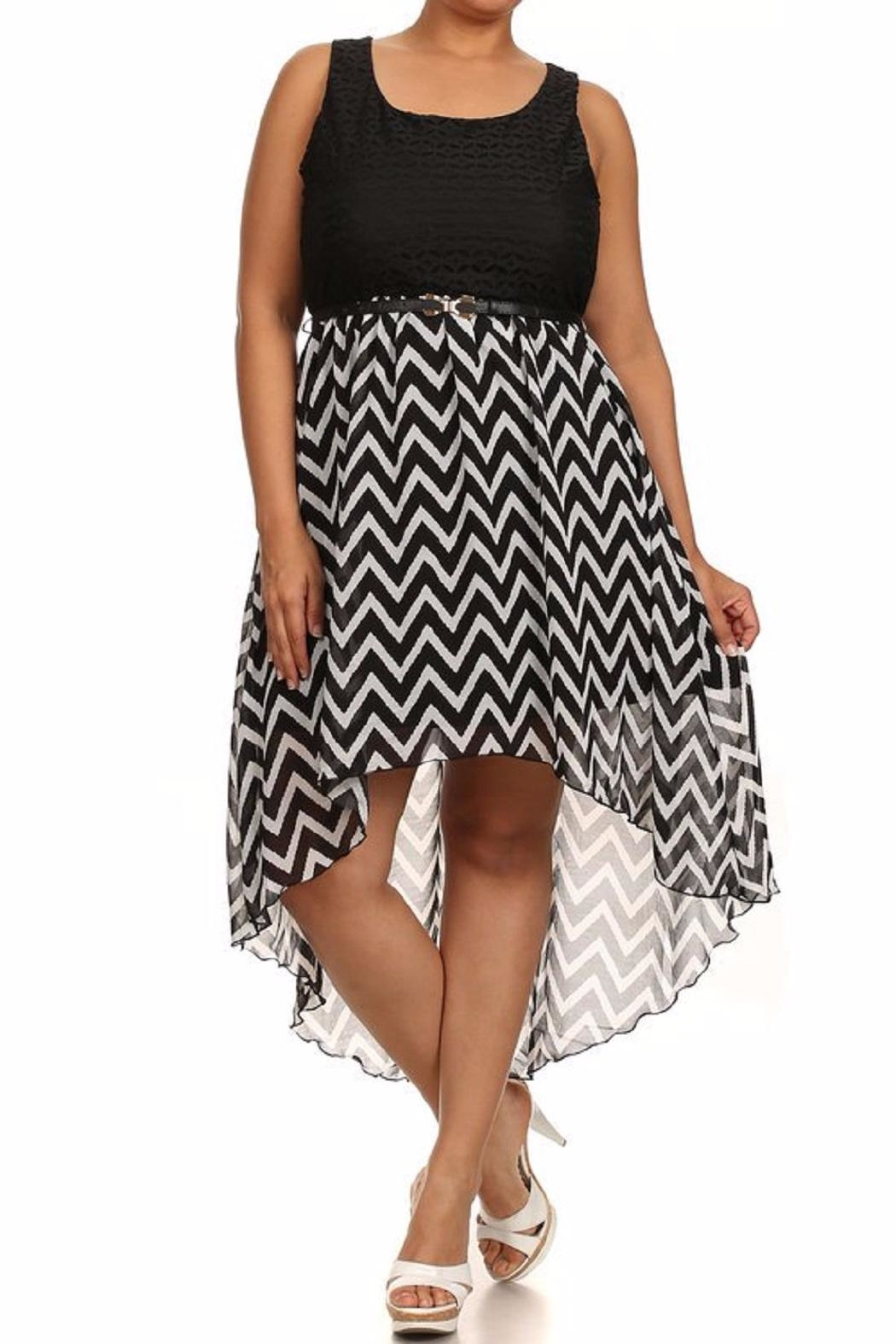 Finesse Hi-Lo Dress - Front Cropped Image