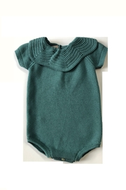 CARMINA FINEST KNIT BABY BUBBLE WITH KNIT COLLAR - Product Mini Image