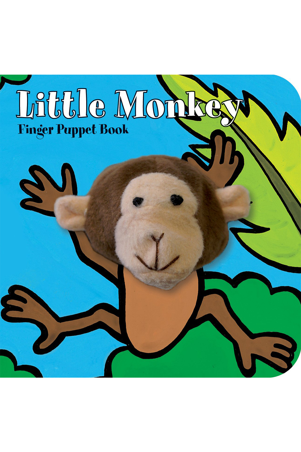 Chronicle Books Finger Puppet Book - Front Cropped Image