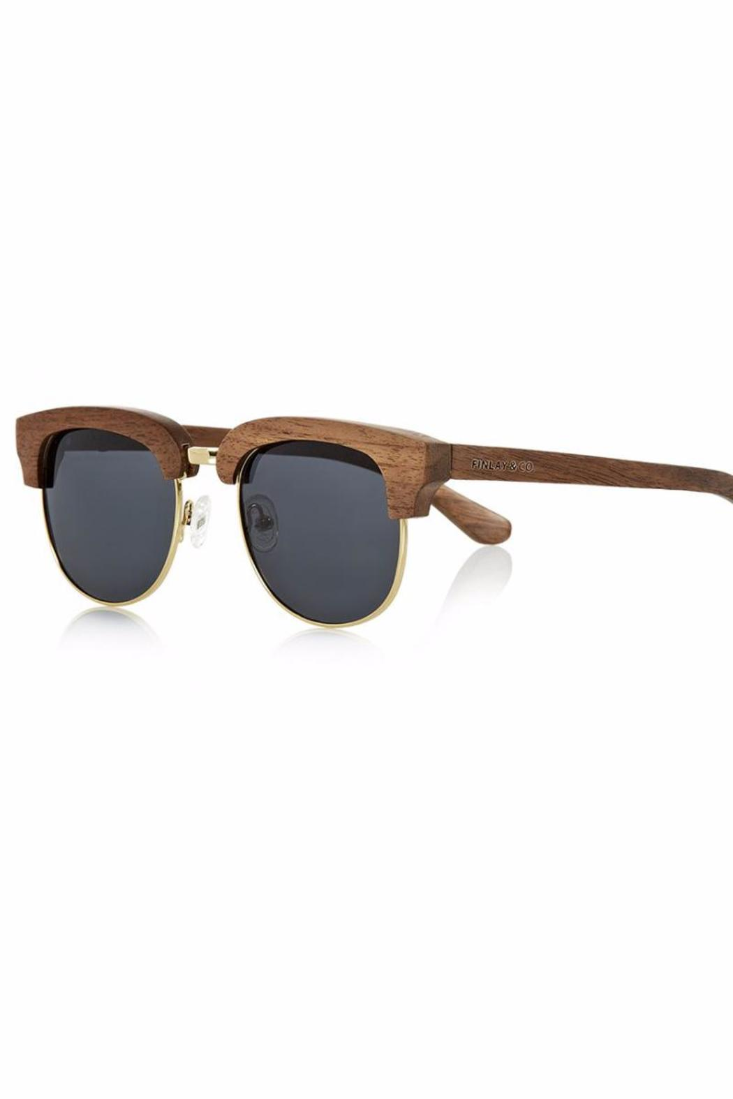 Finlay & Co. Wooden Sunglasses - Main Image