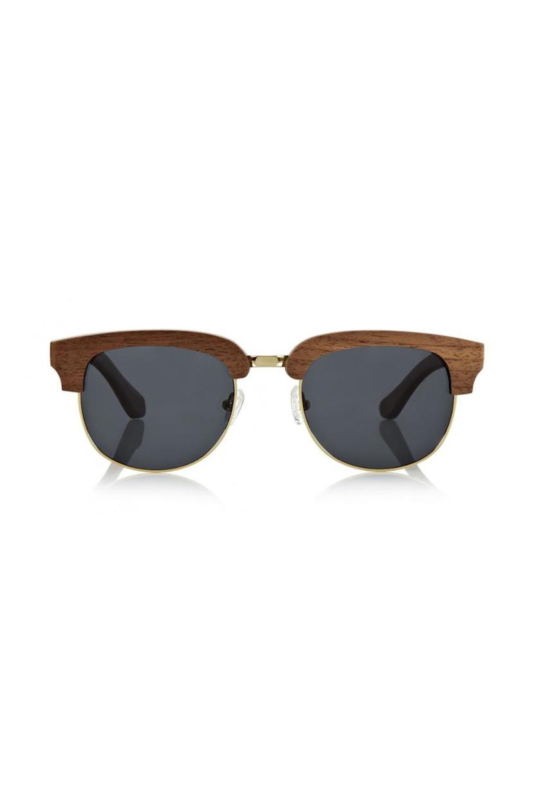 Finlay & Co. Wooden Sunglasses - Side Cropped Image
