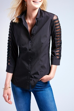 Shoptiques Product: Illusion Arm Shirt
