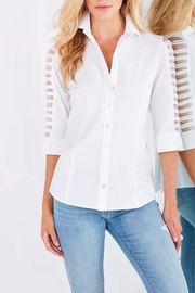 Finley Illusion Sleeve Shirt - Product Mini Image