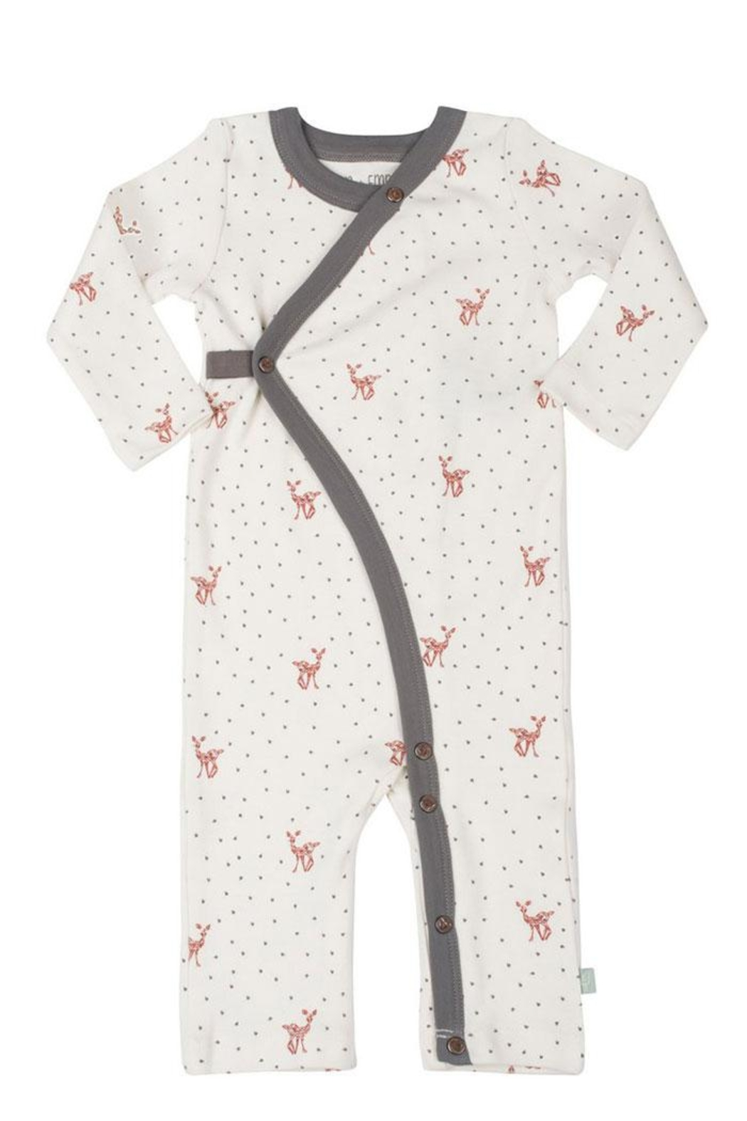 FiNN+EMMA Fawn Coverall - Front Cropped Image