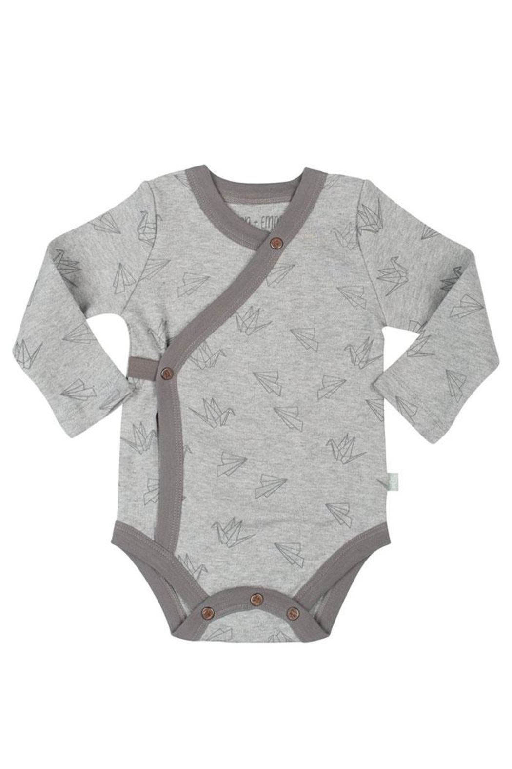 FiNN+EMMA Origami Long Bodysuit - Front Cropped Image