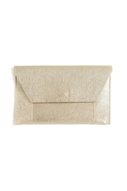Shiraleah Fiona Gold Clutch - Product Mini Image