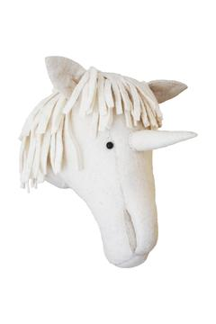 Shoptiques Product: White Unicorn Head