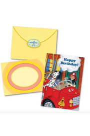 Eeboo Fire Dog Happy Birthday Card - Product Mini Image