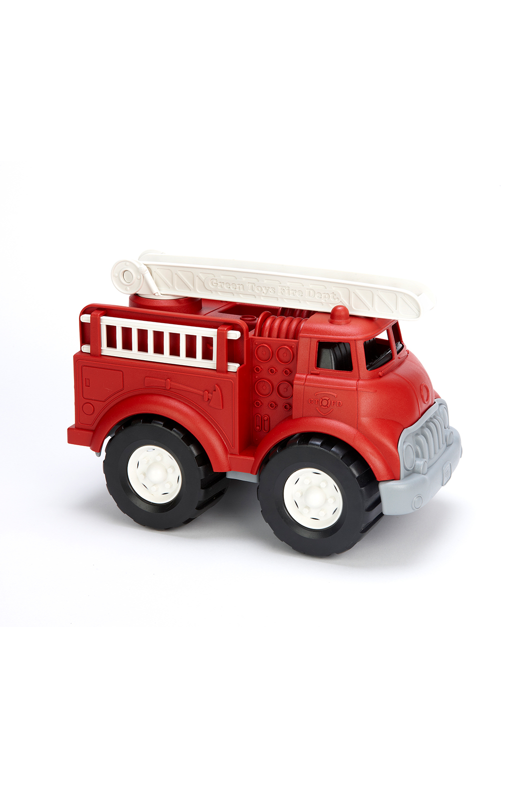 Green Toys Fire Truck Red - Front Full Image