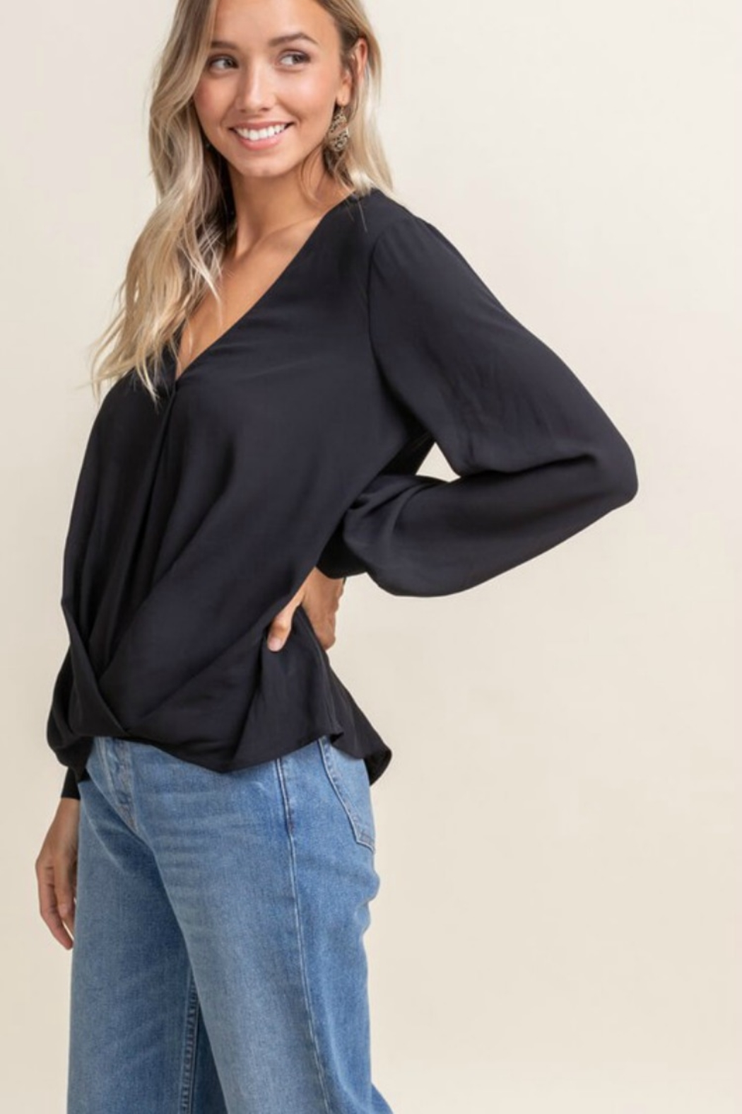 Lush Clothing  FIRE UP BLOUSE - Front Full Image