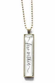 The Vintage Sparrow Fire Within Necklace - Product Mini Image