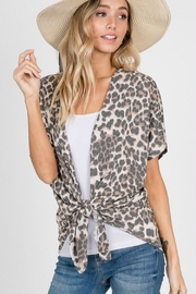 Trend Shop  Fired Up Kimono - Front cropped