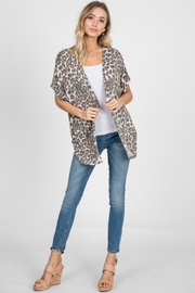 Trend Shop  Fired Up Kimono - Back cropped