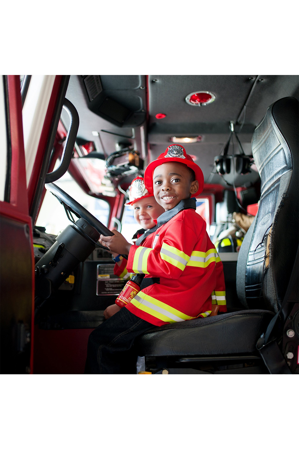 Great Pretenders  Firefighter Cosume With Accessories - Side Cropped Image