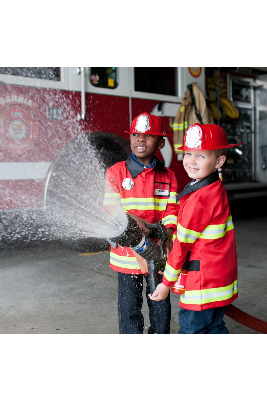 Great Pretenders  Firefighter Cosume With Accessories - Main Image