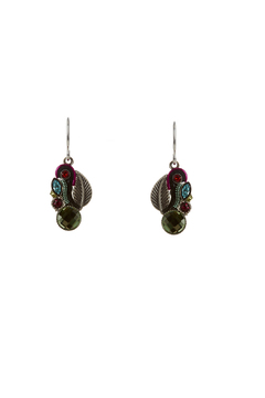 Shoptiques Product: Firefly Leaf Earrings