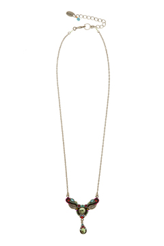 Shoptiques Product: Firefly Leaf Necklace