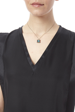 Firefly  Square Necklace - Alternate List Image