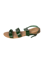 Firenze Green Leather Sandal - Product Mini Image