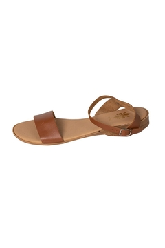 Firenze Tan Leather Sandal - Product List Image