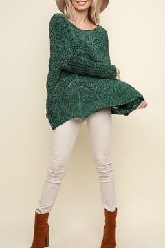 Umgee USA Fireside Chenille Sweater - Product List Image