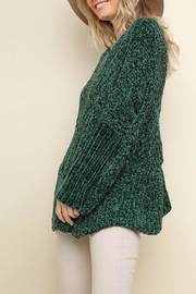 Umgee USA Fireside Chenille Sweater - Side cropped