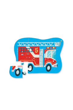 Crocodile Creek Firetruck 12 Piece Puzzle - Alternate List Image