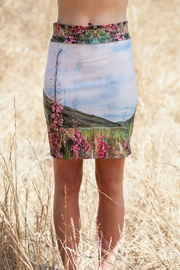 Heidi Fireweed Pencil Skirt - Front cropped