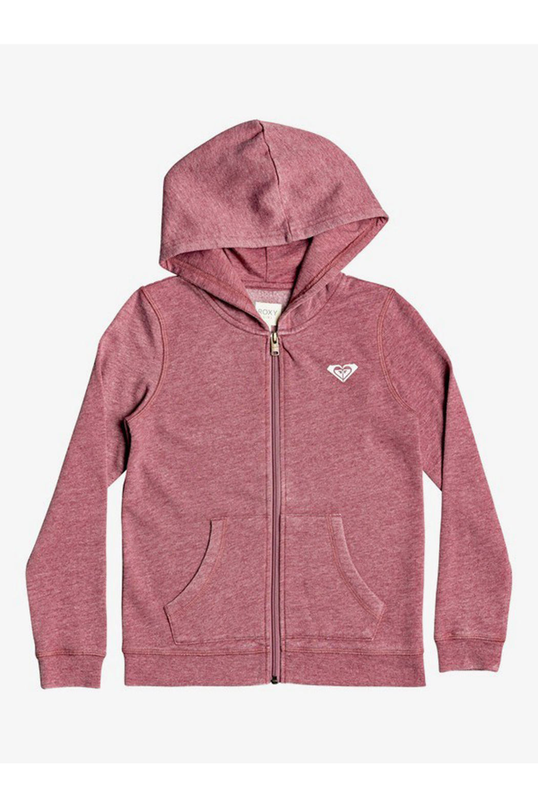 Roxy First Began Zip Up Hoodie - Front Cropped Image