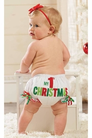 MUDPIE First Christmas Bloomers - Front cropped