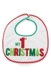 Mud Pie First Christms Bib - Front cropped