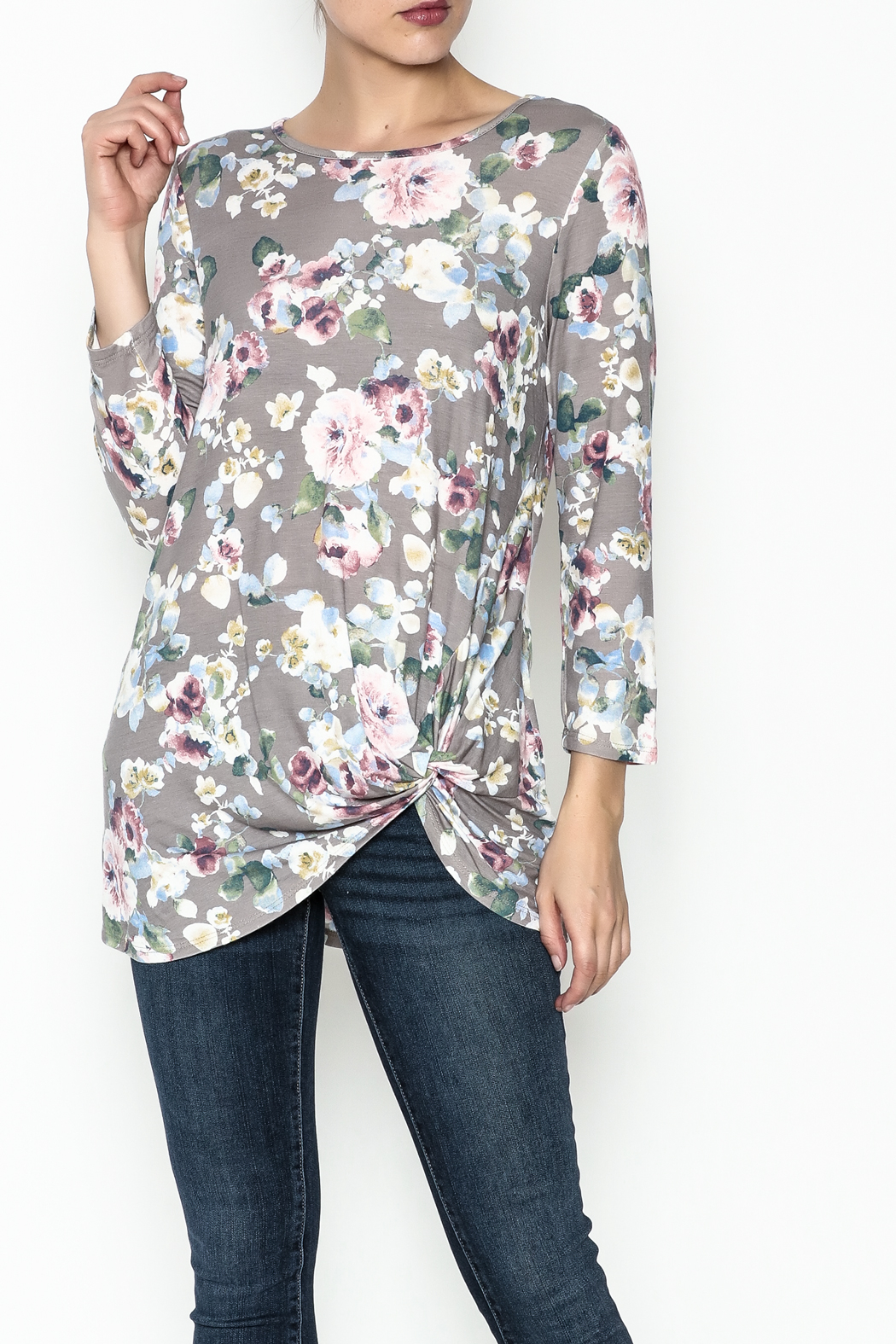 First Look Floral Tunic - Main Image