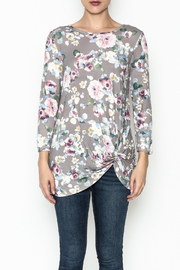 First Look Floral Tunic - Front full body