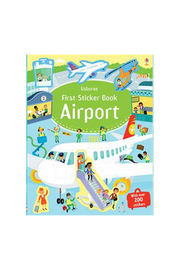 Usborne First Sticker Book Airport - Product Mini Image