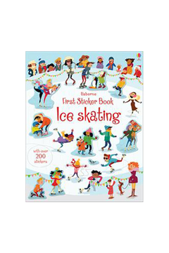 Usborne First Sticker Book Ice Skating - Alternate List Image