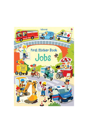Usborne First Sticker Book Jobs - Product Mini Image
