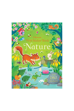 Usborne First Sticker Book Nature - Alternate List Image