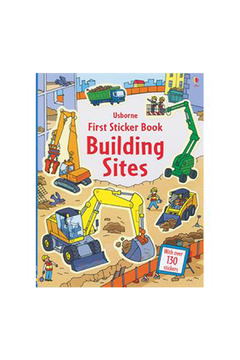 Usborne First Sticker Books Building Sites - Alternate List Image