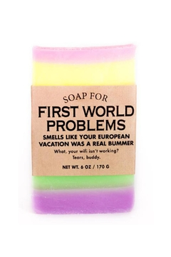 WHISKEY RIVER SOAP CO. First World Soap - Alternate List Image